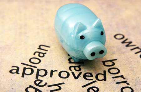 Loan approved concept Stock Photo - 23557049