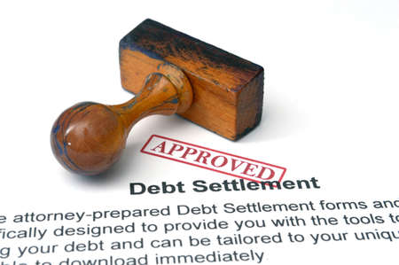 repossession: Debt settlement - approved