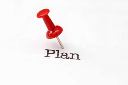 philosophy of logic: Push pin on plan text