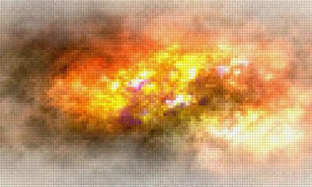 Pixel background Stock Photo - 24077663