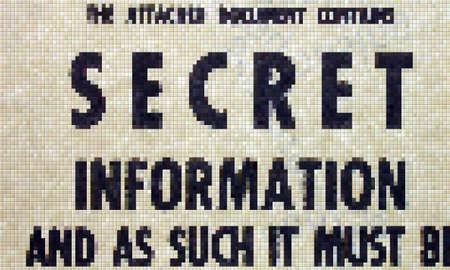 Secret info pixel concept photo