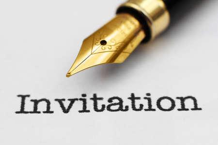 Invitation photo