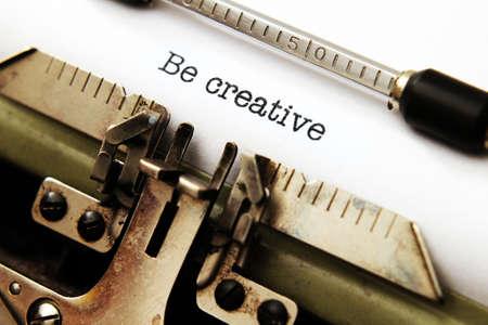 Be creative photo