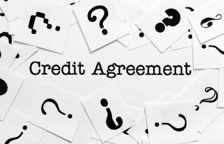 Credit Agreement Images  Stock Pictures Royalty Free Credit