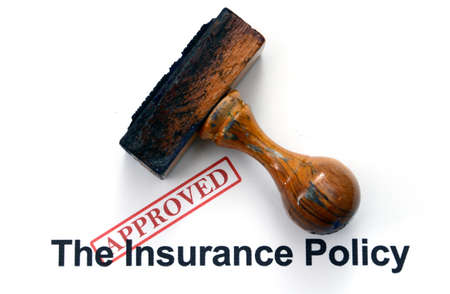Insurance policy - approved photo