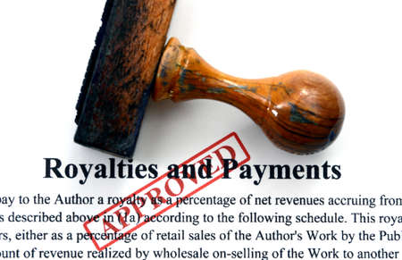 receivable: Royalties and payments