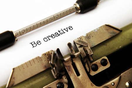 storytelling: Be creative