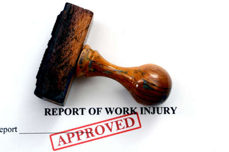 Report of work injury photo