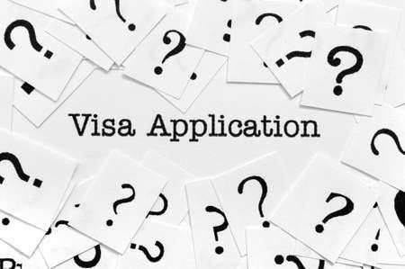 overseas visa: Visa application