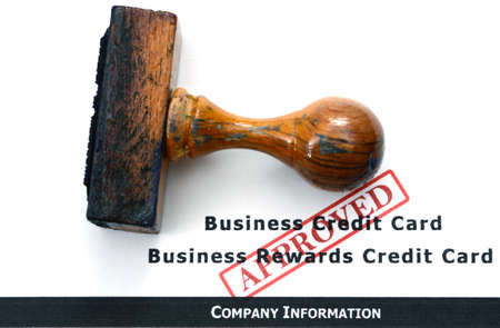 Business credit approved photo