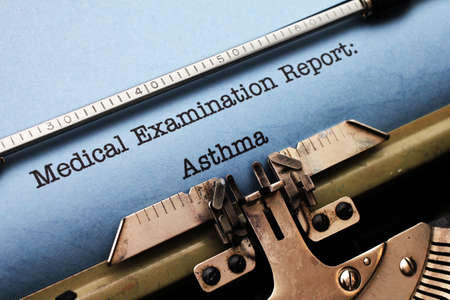 Medical report - Asthma photo