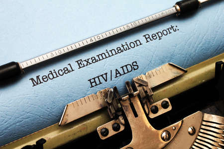 Medical report - HIV AIDS photo