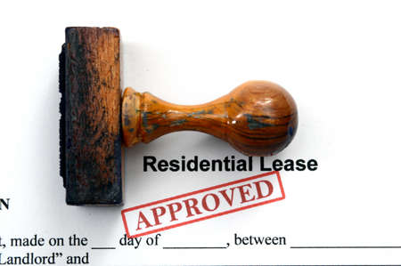Residential lease - approved photo