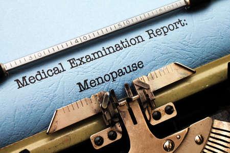 医療レポート - 更年期障害