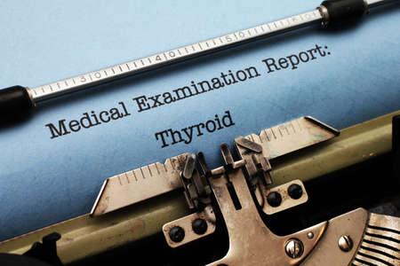 Medical report - Thyroid photo