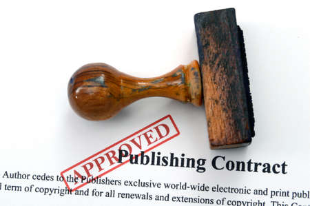 Publishing contract photo