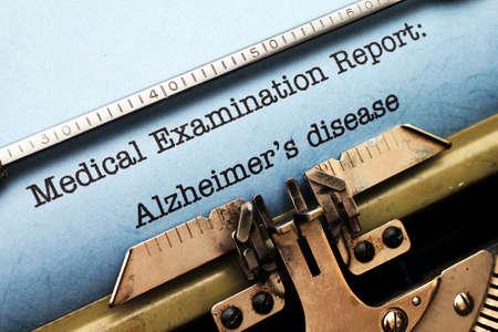 aging brain: Alzheimer disease
