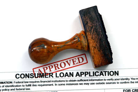 Loan form - approved photo