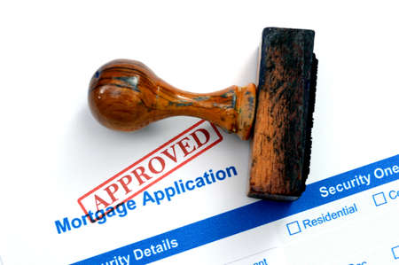 Mortgage form - approved photo