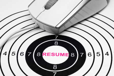 Resume target photo