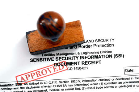 Sensitive security information photo