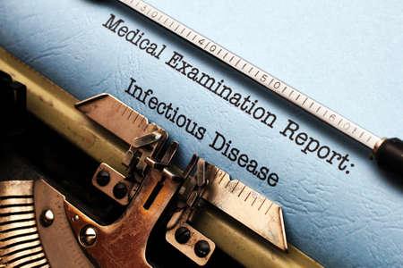 Infectious disease photo