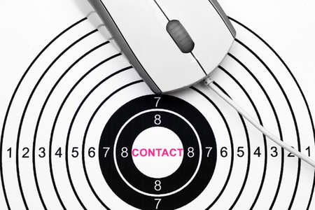 Contact target photo