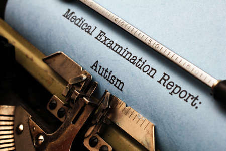 Medical report - Autism photo
