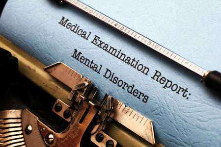 Mental disorder report photo