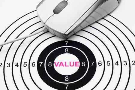 Value target Stock Photo - 25725180