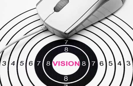 Vision target photo