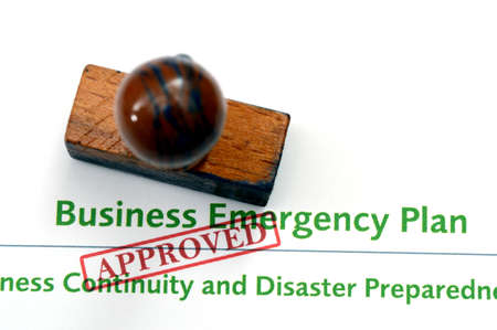 emergency plan: Business emergency plan