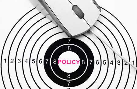 Web policy Stock Photo