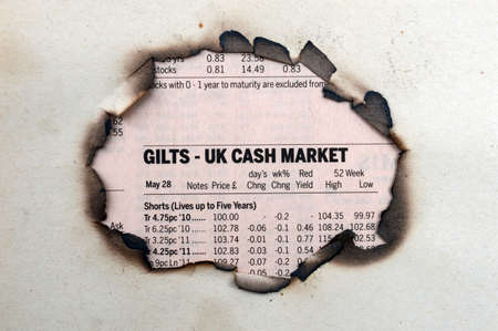 UK cash market photo