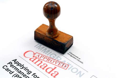 pasaporte: Inmigración de Canadá
