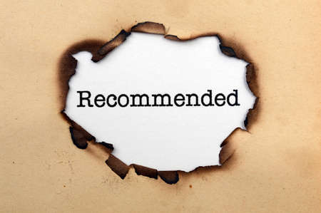 recommended: Recommended