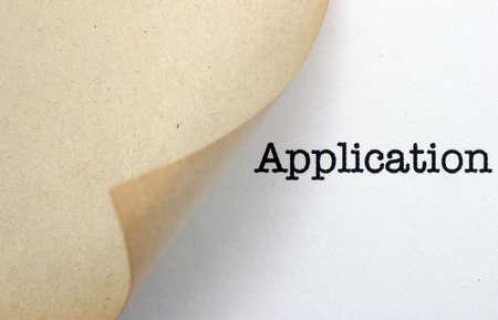 Application photo