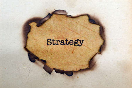 Strategy concept photo