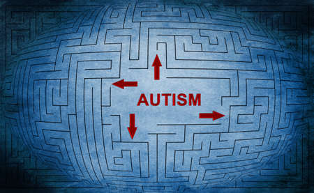 health questions: Autism Stock Photo