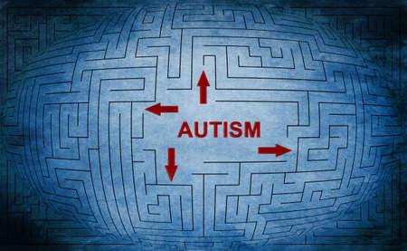 Autism Standard-Bild