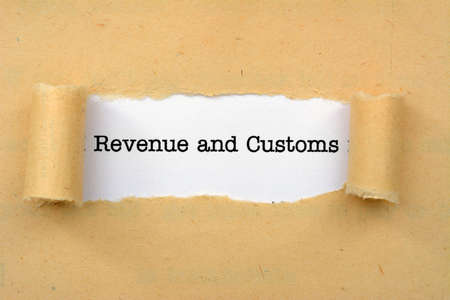 inland: Revenue and customs Stock Photo