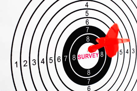 Survey target photo