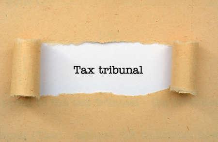 tribunal: Tax tribunal Stock Photo