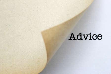 Advice Stock Photo - 26682822
