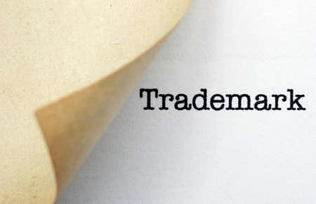 Trademark Stockfoto