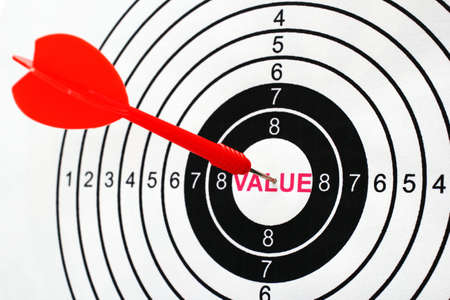 Value target Stock Photo - 26683165