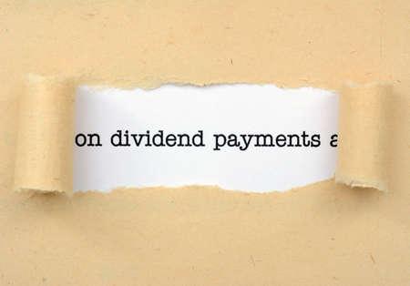dividends: Dividend payments