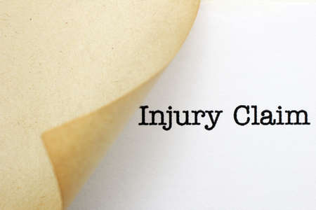 Injury claim photo