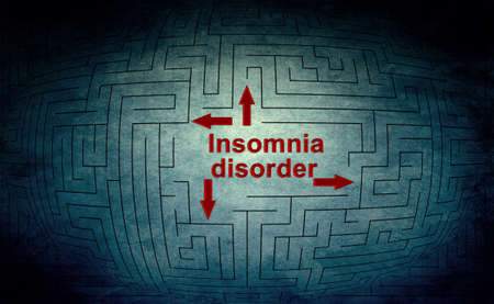 Insomnia disorder photo