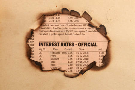 Interest rates photo